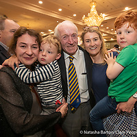 PJ Kelly with daughters Alma and Aoife, grandsons Odhran and Brian