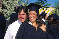 Dylan & Rosemary Garrison, Tufts University 1997 Graduation