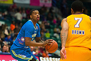 Ricky Ledo (7) of the Texas Legends shoots the ball against the Los Angeles D-Fenders on Friday, January 9, 2015 at the Dr. Pepper Arena in Frisco, Texas. (Cooper Neill/Special Contributor)
