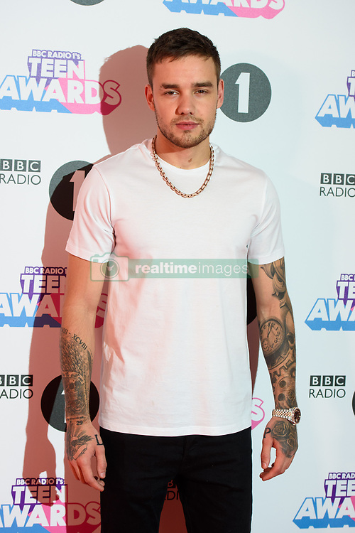 Liam Payne attending the BBC Radio 1 Teen Wards, at Wembley Arena, London. Picture date: Sunday October 22nd, 2017. Photo credit should read: Matt Crossick/ EMPICS Entertainment.