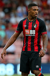 """Bournemouth's Jordon Ibe during the pre-season friendly at the Vitality Stadium, Bournemouth. PRESS ASSOCIATION Photo. Picture date: Friday August 3, 2018. See PA story SOCCER Bournemouth. Photo credit should read: Mark Kerton/PA Wire. RESTRICTIONS: EDITORIAL USE ONLY No use with unauthorised audio, video, data, fixture lists, club/league logos or """"live"""" services. Online in-match use limited to 75 images, no video emulation. No use in betting, games or single club/league/player publications."""