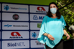 Simona Lipicer Kustec during 1st Stage of 27th Tour of Slovenia 2021 cycling race between Ptuj and Rogaska Slatina (151,5 km), on June 9, 2021 in Slovenia. Photo by Vid Ponikvar / Sportida