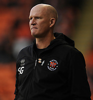 Blackpool manager Simon Grayson <br /> <br /> Photographer Kevin Barnes/CameraSport<br /> <br /> The EFL Sky Bet Championship - Blackpool v Peterborough United - Saturday 2nd November 2019 - Bloomfield Road - Blackpool<br /> <br /> World Copyright © 2019 CameraSport. All rights reserved. 43 Linden Ave. Countesthorpe. Leicester. England. LE8 5PG - Tel: +44 (0) 116 277 4147 - admin@camerasport.com - www.camerasport.com