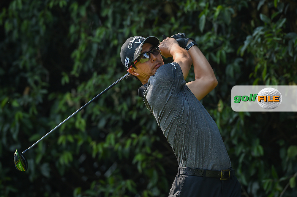 Ryo Ishikawa (JPN) watches his tee shot on 2 during Rd4 of the World Golf Championships, Mexico, Club De Golf Chapultepec, Mexico City, Mexico. 2/23/2020.<br /> Picture: Golffile | Ken Murray<br /> <br /> <br /> All photo usage must carry mandatory copyright credit (© Golffile | Ken Murray)