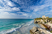 One of the best-preserved coastal Maya sites, Tulum was among the last cities built and inhabited by the Mayans.