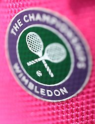 A champagne jacket on day four of the Wimbledon Championships at the All England Lawn Tennis and Croquet Club, Wimbledon. PRESS ASSOCIATION Photo. Picture date: Thursday July 6, 2017. See PA story TENNIS Wimbledon. Photo credit should read: Philip Toscano/PA Wire. RESTRICTIONS: Editorial use only. No commercial use without prior written consent of the AELTC. Still image use only - no moving images to emulate broadcast. No superimposing or removal of sponsor/ad logos.