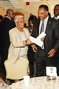 New York, NY-January 31: (L-R) Recording Artist Dionne Warwick and Rev. Jesse L. Jackson, founder, Rainbow PUSH attend the16th Annual Wall Street Project Gala Fundraiser Reception with special Tribute to Berry Gordy, Jr and Motown Recordings held at the Roosevelt Hotel on January 31, 2013. The Rainbow PUSH Coalition is a progressive organization protecting, defending and expanding civil rights to improve economics and educational opportunity. (Terrence Jennings))