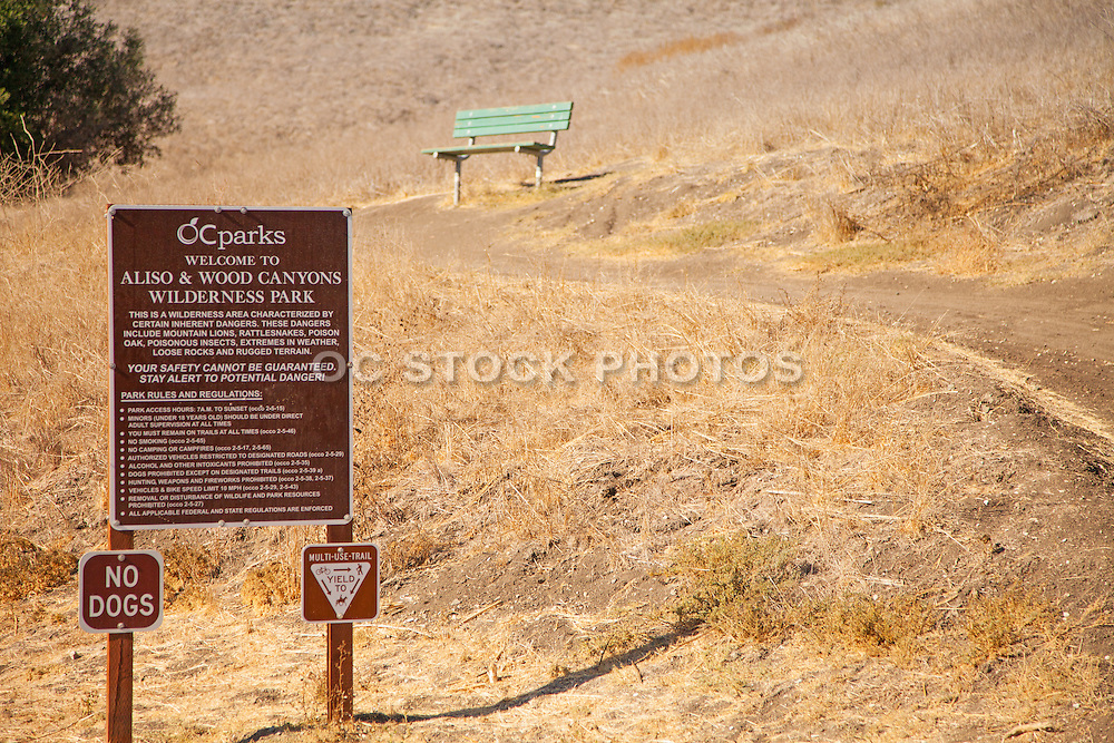 Scenic Landscape of Aliso and Wood Canyons Wilderness Park