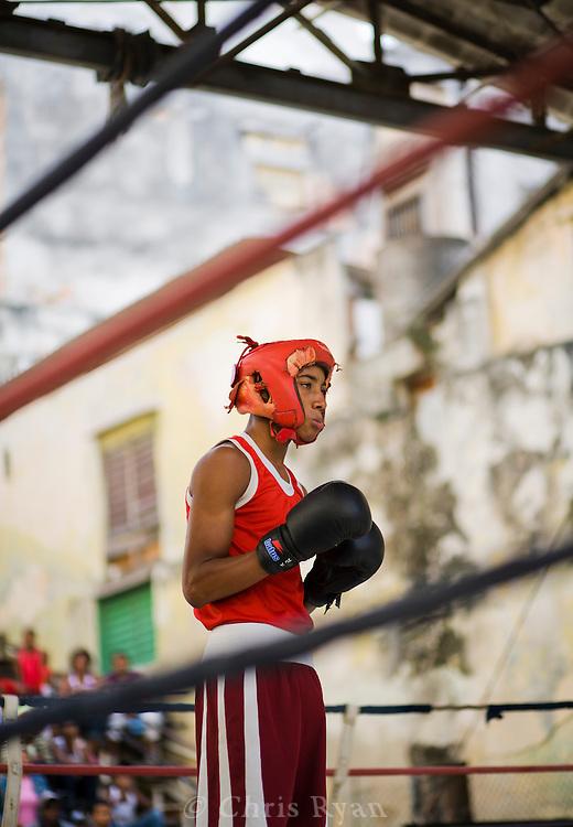 Young boxer, Havana, Cuba