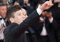 Actor Barry Keoghan at The Killing of a Sacred Deer gala screening at the 70th Cannes Film Festival Monday 22nd May 2017, Cannes, France. Photo credit: Doreen Kennedy