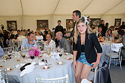 KIRSTEN RUPPERT, The Dalwhinnie Crook  charity Polo match  at Longdole  Polo Club, Birdlip  hosted by the Halcyon Gallery. . 12 June 2010. -DO NOT ARCHIVE-© Copyright Photograph by Dafydd Jones. 248 Clapham Rd. London SW9 0PZ. Tel 0207 820 0771. www.dafjones.com.