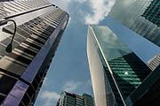 Singapore, Skyscraper in downtown