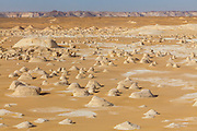 "El-Khiyam ""The Tents"", (Chalk Rockforms) Sahara Beida (White Desert), Egypt"