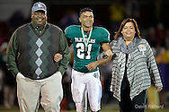 Lakewood at Elyria Catholic high school varsity football on October 10, 2014. Images © David Richard and may not be copied, posted, published or printed without permission.