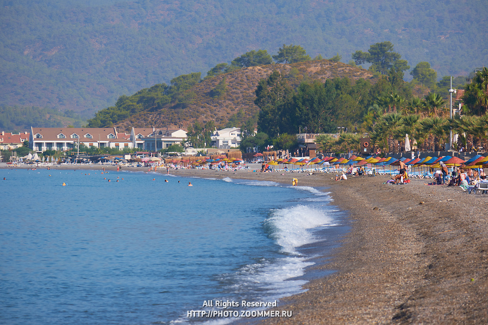 Calis beach, Fethiye, Turkey