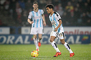 Duane Holmes (Huddersfield Town) during the Sky Bet Championship match between Huddersfield Town and Rotherham United at the John Smiths Stadium, Huddersfield, England on 15 December 2015. Photo by Mark P Doherty.
