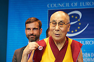 NO HATE, HHDL at Coucil of Europe