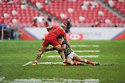 Teruya Goto (JPN), APRIL 17, 2016 - Rugby : HSBC Sevens World Series, Singapore Sevens match Japan and Russia at National Stadium in Singapore. (Photo by Haruhiko Otsuka/AFLO)