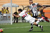 20100125: SAO PAULO, BRAZIL - Sao Paulo FC vs Santos - Sao Paulo Youth Cup 2010 Final. Sao Paulo FC won on the penalty shootout. In picture: Jeferson (Sao Paulo, L). PHOTO: CITYFILES