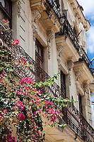 Beautiful colonial building in Old Havana, Cuba.