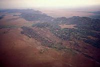 Vista aerea de las Galeras del Cinaruco, Parque Nacional Cinaruco-Capanaparo, Apure, Venezuela