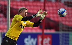 Anssi Jaakkola of Bristol Rovers warms up - Mandatory by-line: Alex James/JMP - 21/11/2020 - FOOTBALL - County Ground - Swindon, England - Swindon Town v Bristol Rovers - Sky Bet League One