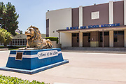 El Monte High School Auditorium and Mascot Monument