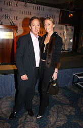 GEORDIE GREIG and LADY EMILY COMPTON at the Tatler Restaurant Awards held at The Dorchester, Park Lane, London on 22nd January 2007.<br />