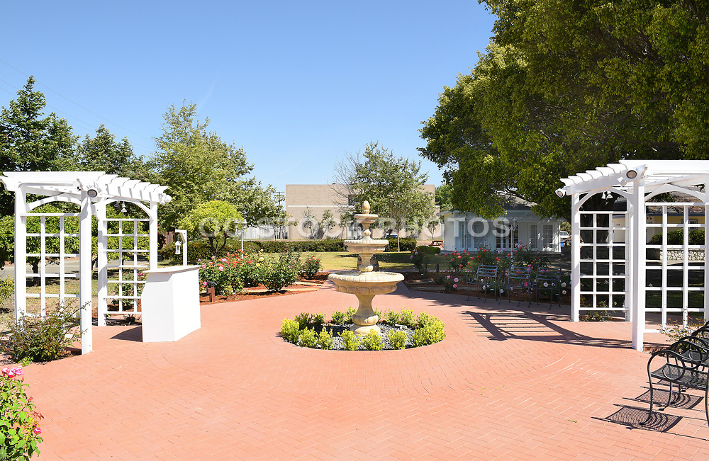 Heritage Museum of Orange County Fountain Courtyard