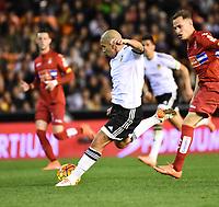 Valencia's    Sofiane Feghouli  during La Liga match. February 13, 2016. (ALTERPHOTOS/Javier Comos)