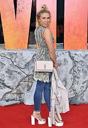 Gabby Allen attending the European premiere of Rampage, held at the Cineworld in Leicester Square, London. Photo credit should read: Doug Peters/EMPICS Entertainment