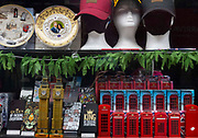 Tourist souvenir store on Oxford Street, during the third lockdown of the Coronavirus pandemic, on 3rd March 2021, in London, United Kingdom. Its reputation as Europe's premier shopping destination faces its biggest threat in decades. A flood of store closures and deterioration in the quality of the buildings and public space along the near two-kilometer thoroughfare is being aggravated by lockdown restrictions that are decimating foot traffic and driving more shoppers online away from the the capitals West End