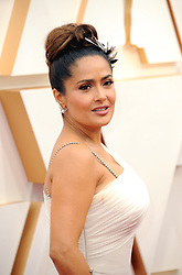 Salma Hayek at the 92nd Academy Awards held at the Dolby Theatre in Hollywood, USA on February 9, 2020.