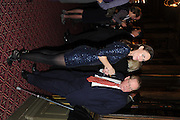 LAETICIA CASH, GEORGE GUISE;, Celebration of the  200TH Anniversary of the  Birth of Rt.Hon. John Bright MP  and the publication of <br /> ÔJohn Bright: Statesman, Orator, AgitatorÕ by Bill Cash MP. Reform Club. London. 14 November 2011. <br /> <br />  , -DO NOT ARCHIVE-© Copyright Photograph by Dafydd Jones. 248 Clapham Rd. London SW9 0PZ. Tel 0207 820 0771. www.dafjones.com.<br /> LAETICIA CASH, GEORGE GUISE;, Celebration of the  200TH Anniversary of the  Birth of Rt.Hon. John Bright MP  and the publication of <br /> 'John Bright: Statesman, Orator, Agitator' by Bill Cash MP. Reform Club. London. 14 November 2011. <br /> <br />  , -DO NOT ARCHIVE-© Copyright Photograph by Dafydd Jones. 248 Clapham Rd. London SW9 0PZ. Tel 0207 820 0771. www.dafjones.com.