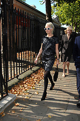 The HON.SOPHIA HESKETH at the memorial service of Isabella Blow held at the Guards Chapel, London W1 on 18th September 2007.<br /><br />NON EXCLUSIVE - WORLD RIGHTS