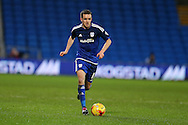 Craig Noone of Cardiff city in action. Skybet football league championship match, Cardiff city v Blackburn Rovers at the Cardiff city stadium in Cardiff, South Wales on Saturday 2nd Jan 2016.<br /> pic by Andrew Orchard, Andrew Orchard sports photography.