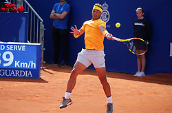 April 29, 2018 - Barcelona, Spain - Rafa Nadal during the match against Stefanos Tsitsipas during the final of the Barcelona Open Banc Sabadell, on 29th April 2018 in Barcelona, Spain.  Photo: Joan Valls/Urbanandsport /NurPhoto. (Credit Image: © Joan Valls/NurPhoto via ZUMA Press)