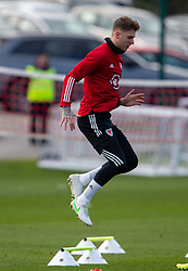 CARDIFF, WALES - Tuesday, March 23, 2021: Wales' Joe Rodon during a training session at the Vale Resort ahead of the FIFA World Cup Qatar 2022 Qualifying game against Belgium. (Pic by David Rawcliffe/Propaganda)
