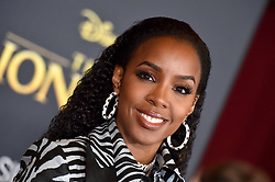 """Kelly Rowland attends the world premiere of Disney's """"The Lion King"""" at Dolby Theatre on July 9th, 2019 in Los Angeles, CA, USA. Photo by Lionel Hahn/ABACAPRESS.COM"""