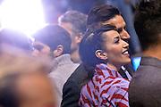 Nina Zilli<br /> Segafredo Virtus Bologna - Kontatto Fortitudo Bologna<br /> Campionato Basket LNP 2016/2017<br /> Bologna 06/01/2017<br /> Foto Ciamillo-Castoria