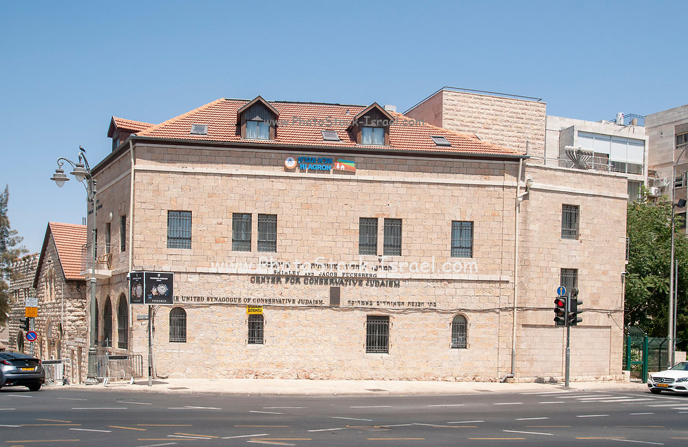 The Fuchsberg Jerusalem Center for Conservative Judaism is the central organization for Conservative Judaism in Israel. The Fuchsberg Center houses the Conservative Yeshiva, Moreshet Yisrael synagogue, and the Agron Guest House managed by the Israel Youth Hostel Association.<br /> Contents
