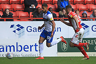 Rekeil Pyke during the EFL Sky Bet League 1 match between Charlton Athletic and Rochdale at The Valley, London, England on 4 May 2019.