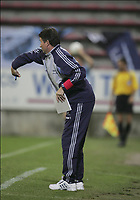 CHARLEROI 04/09/2004 / <br /> SPORT / FOOTBALL / VOETBAL<br /> STADE DU PAYS DE CHARLEROI<br /> CHARLEROI - CLUB BRUGGE<br /> TROND SOLLIED