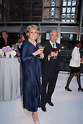 LAVINIA BYERS; ROBIN BYERS, CARTIER CHELSEA FLOWER SHOW DINNER Dinner hosted by Cartier in celebration of the Chelsea Flower Show was held at Battersea Power Station. 22 May 2012