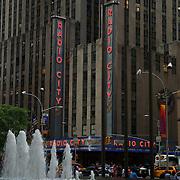 Radio City music hall. New York City, NY.USA.