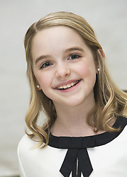 March 31, 2017 - Hollywood, California, U.S. - MCKENNA GRACE promotes 'Gifted' and 'How to Be a Latin Lover'. Mckenna Grace (born June 25, 2006) is an American child actress known for playing the role of Jasmine Bernstein in the series Crash & Bernstein and Faith Newman in The Young and the Restless. As of 2016, she plays Penny Kirkman in the ABC television series Designated Survivor. McKenna is also in the hit TV Show Once Upon a Time as young Emma. She is set to appear in the upcoming film, How to Be a Latin Lover as Arden.I, Tonya (2018), How to Be a Latin Lover (2017), Gifted (2017), The Long Run (2018). (Credit Image: © Armando Gallo via ZUMA Studio)