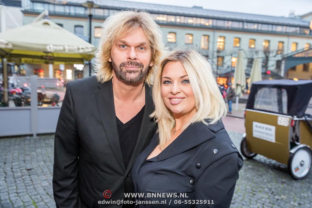 NLD/Amsterdam/20171016 - Boekpresentatie PicStory van William Rutten, Bobbi Eden en partner Mark Laurenz