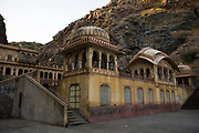 The Surya Mandir (known as the Monkey Temple), Jaipur, India