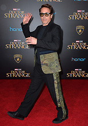 Robert Downey Jr. attends the premiere of Disney and Marvel Studios Doctor Strange at the El Capitan Theatre on October 20, 2016 in Los Angeles, CA, USA. Photo by Lionel Hahn//ABACAPRESS.COM    567927_072 Los Angeles Etats-Unis United States