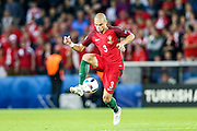 Pepe of Portugal, during the match against Austria, valid for the European Championship Group F 2016 in the Parc des Princes stadium in Paris on Saturday 18. The game ended 0 to 0.